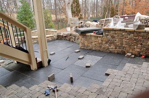 What Gravel To Use For Patio Base by Brock Paver Base Replaces The Time Consuming Gravel Base