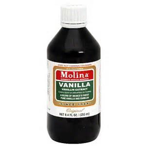 molina vanilla extract 8 4 fl oz pack of 12 walmart com