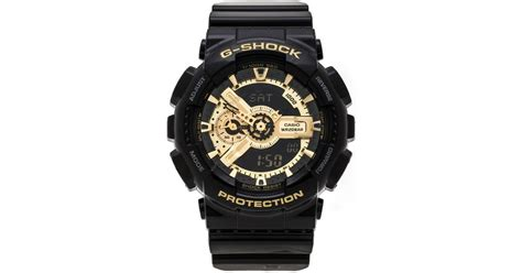 G Shock Ga 110 Gshock Ga110 Warna Black 1 g shock ga 110 in black lyst