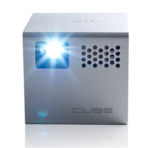 Proyektor Rif6 Cube Rif6 Cube 2 Inch Pico Dlp High Res Mobile Projector 120
