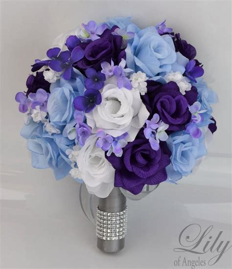 Wedding Bouquet Decorations by 17 Package Bridal Wedding Bouquets Silk Flowers