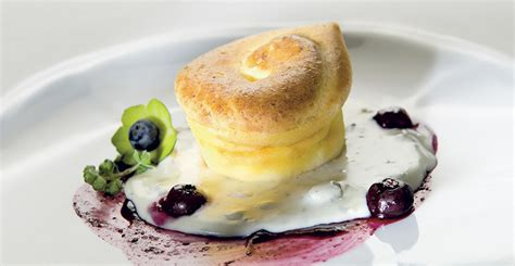 Zola Mustard flan with mustard and spicy blueberries gorgonzola recipes