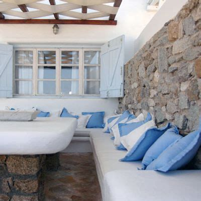 Small Architects House Santorini 9 Best Images About Outside On
