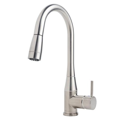 symmons kitchen faucets symmons sereno single handle pull sprayer kitchen