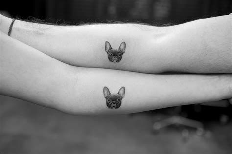 micro pet portrait tattoos by sanghyuk ko dog milk