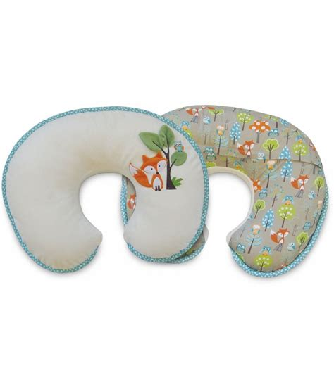 What Is A Boppy Pillow Used For by Boppy Pillow With Luxe Slipcover Fox Owls