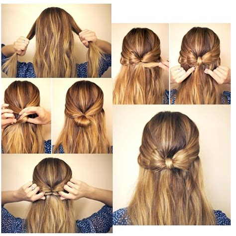 how to your to bow how to make a bow in your hair i think i will do this tomorrow cite hair styles