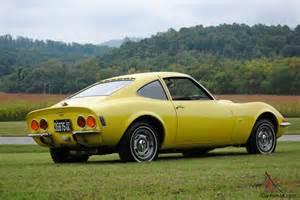 1970 Opel Gt 1970 Opel Gt Original Ca Car 3rd Owner Auto