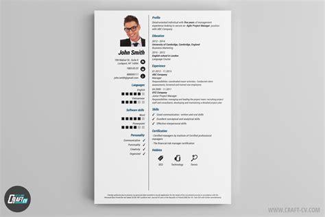 Resume Layout Example by Lebenslauf Muster Und Vorlagen Lebenslauf Beispiel Craftcv