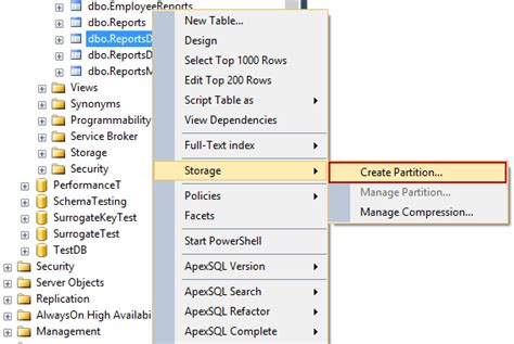 how to serve a table database table partitioning in sql server sql shack