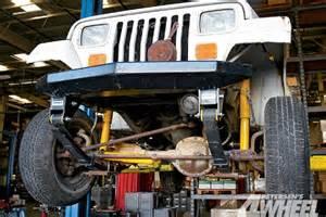 jeep leaf suspension shackle reversal 4 wheel road magazine