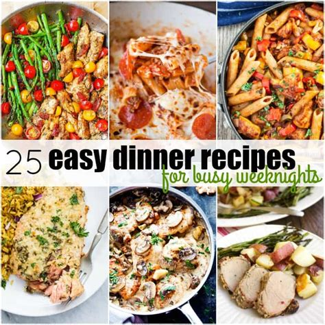 best 25 meals for two ideas on recipes for two easy meals for two and healthy 25 easy dinner recipes for busy weeknights real housemoms