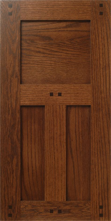 Craftsman Style Cabinet Doors Craftsman Style Oak Wood Cabinet Door With Pegs Buttons Walzcraft
