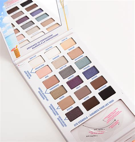 The Balm Balmsai Pallette thebalm makeup reviews and collection news