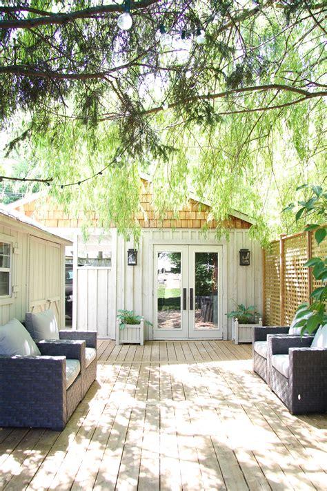 our backyard elements of our backyard studio build backyard studio