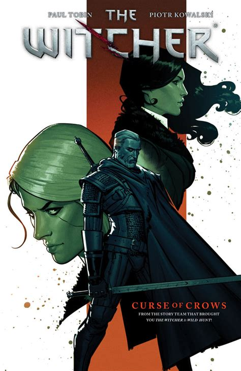 the witcher volume 3 curse of crows tpb profile