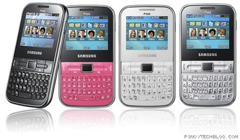 Samsung Qwerty Phone Seri Gt C3222 samsung punch gives you dual sim on a qwerty phone