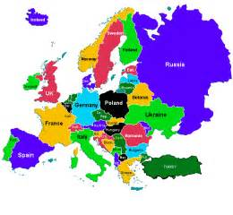 Countries In Europe Map by Map Of Europe Countries Map Pictures