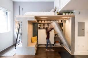 Murphy Bed Under 500 Smart Move Domino Loft Maximizes Space In Micro