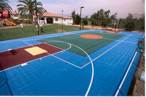 backyard sport court sport court east game court