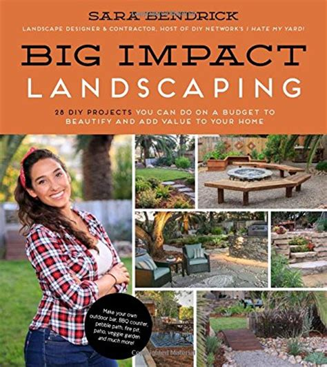 pdf big impact landscaping 28 diy projects you