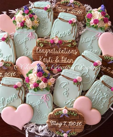 Wedding Cookie Ideas by 25 Best Ideas About Wedding Cookies On