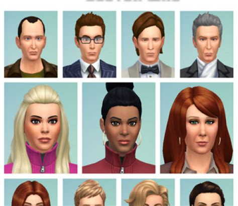 actor sims 4 the sims 4 celebrities custom content downloads