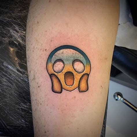 emoji tattoos all the feels 10 emoji tattoos custom design
