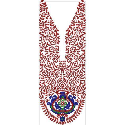 embroidery design neckline neck line embroidery design 2
