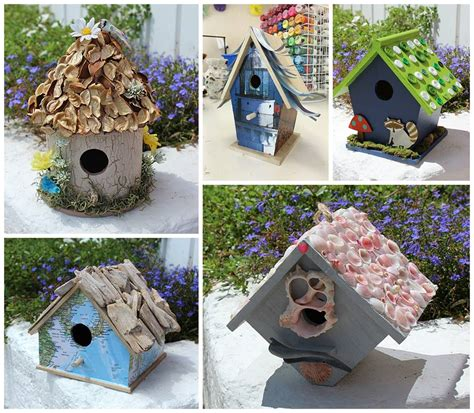 craft projects birdhouse crafts 5 ways to create a birdhouse you will love