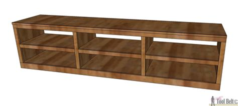 shoe shelf bench with pocket holes tool belt
