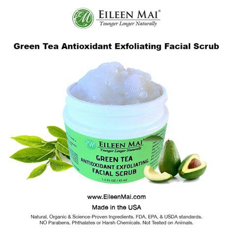 Thankscrub Greentea green tea antioxidant exfoliating scrub eileen mai younger longer naturally