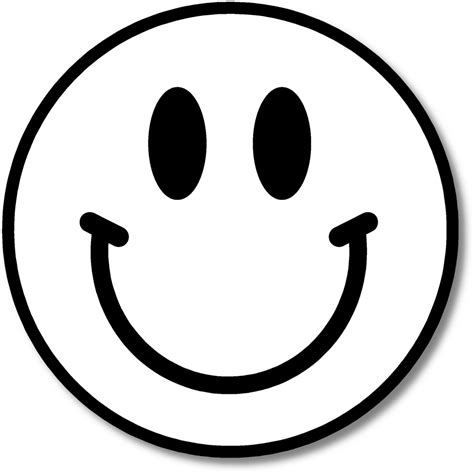 Black And White Smiley Face Clip Art | smiley face clip art black and white clipart best