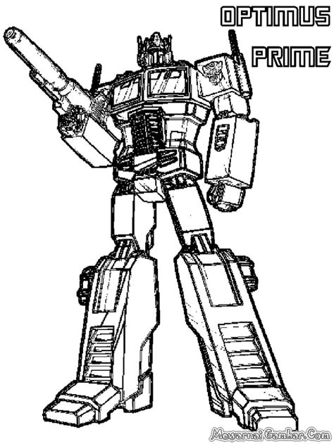 coloring pages of optimus prime optimus prime