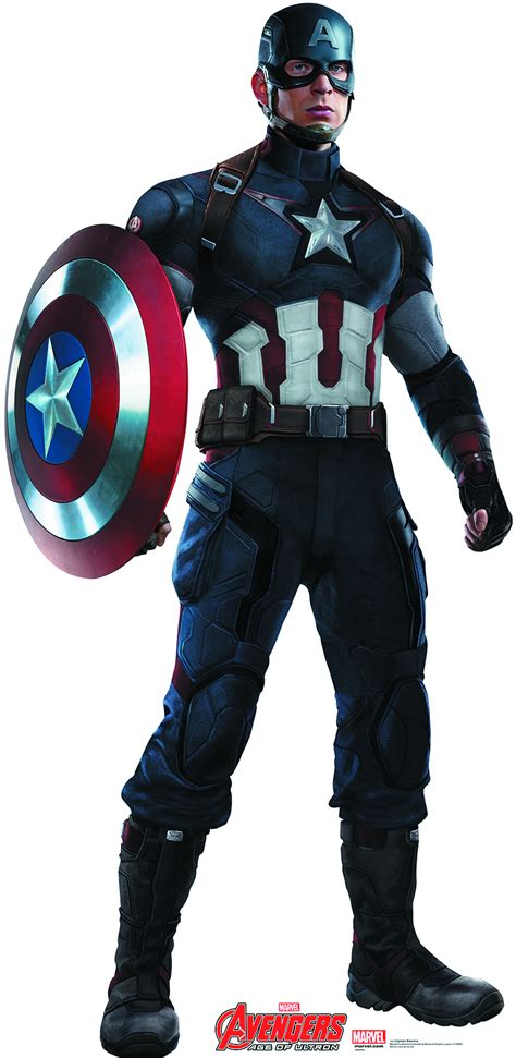 Doraemonavenger Captain America may152675 age of ultron captain america size standup previews world