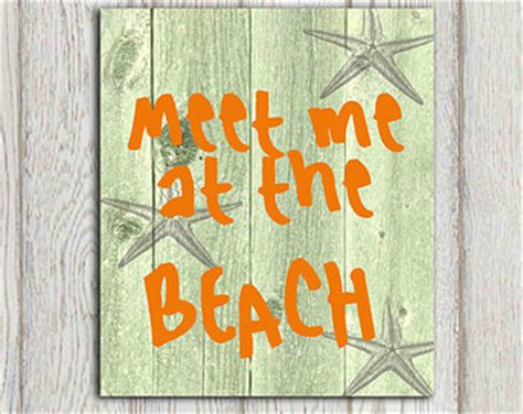 meet me at the bathroom popular items for beach quote print on etsy
