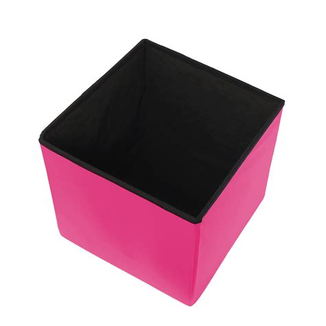 sit and store storage ottoman simple concepts designer spizy foldaway ottoman storage toy box pouffe