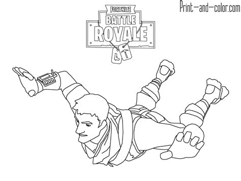 Fortnite Coloring Pages Printable