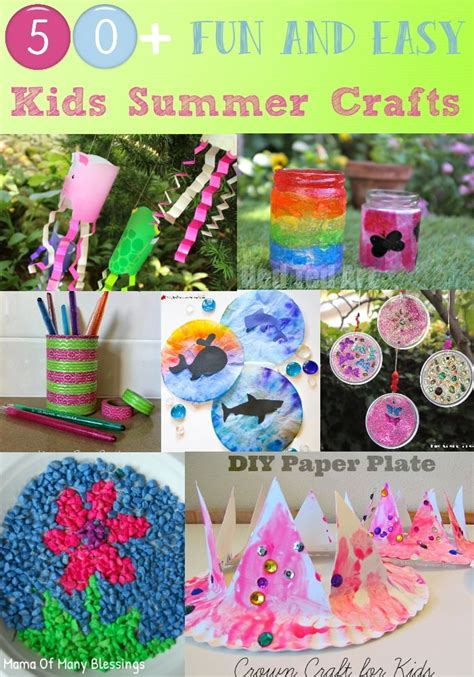 easy summer craft ideas for 50 awesome and easy craft ideas for summer
