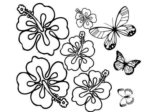 imagenes de mariposas y flores para imprimir listo para imprimir flores y mariposas para colorear
