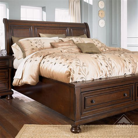 ashley sleigh bedroom set porter bedroom set ashley furniture marceladick com