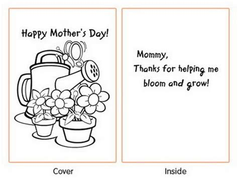 free printable mothers day cards templates easy printable mothers day cards ideas for family
