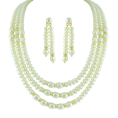 Buy String - buy three string oval button pearl set jpearls