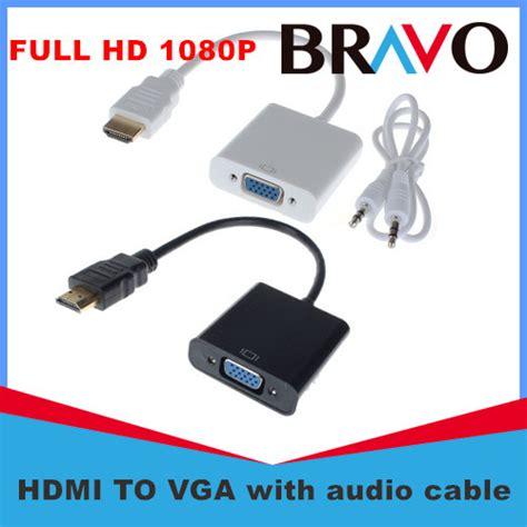 Sale Vga Conversion Tv To Pc sale hdmi vga 1080p hdmi to vga converter adapter audio cable for pc tv free