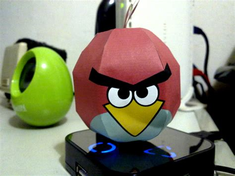 Angry Birds Paper Crafts Gadgetsin by Angry Birds Papercraft Imagui