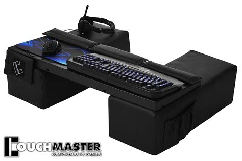 sofa pc gaming couchmaster lap desk reverse sofa technabob