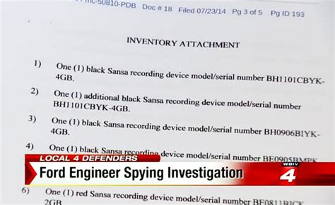 Detroit Court Records Fbi Investigates Ford Engineer After Listening Devices Found Ny Daily News