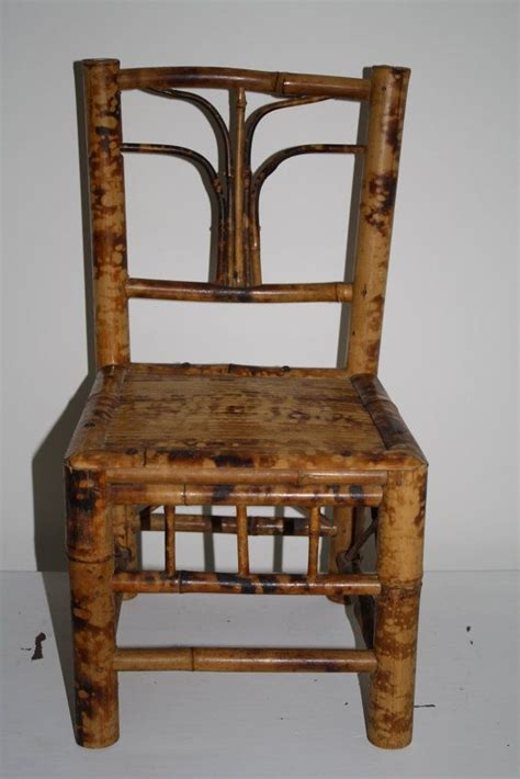 Vintage Bamboo Furniture by Antique Bamboo Chair Vintage Bamboo Child S Chair By