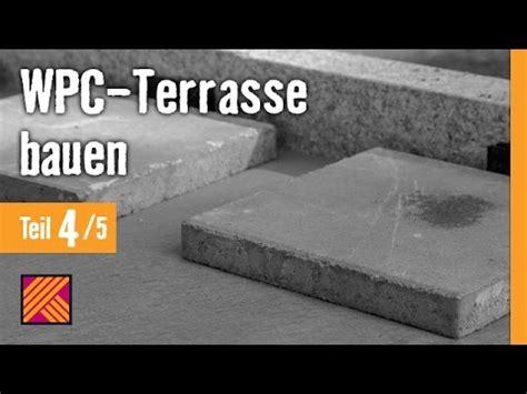 version 2013 wpc terrasse bauen kapitel 4 untergrund