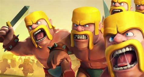 Coc Barbarian3 clash of clans hog rider attack